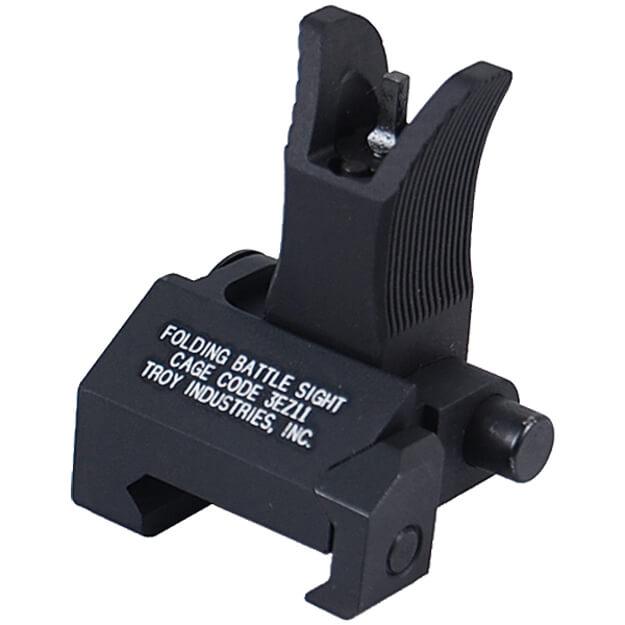 Troy Front Folding Battlesight M4 Style - Black