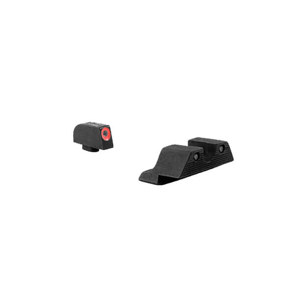 Trijicon Glock HD Night Sight Set - Orange Front Outline 9mm,.40,.45,.357 & .380