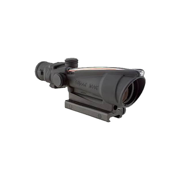 Trijicon TA11E ACOG 3.5x35 Dual Illuminated Red Chevron BAC .308 Flattop Reticle w/TA51