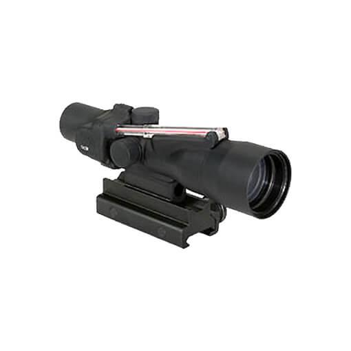 Trijicon TA33-C-400134 ACOG 3x30 Dual Illuminated Red Horseshoe/Dot 7.62x39 Ballistic Reticle