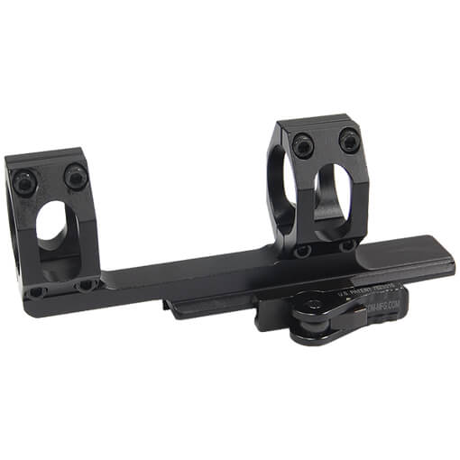 American Defense Throw Lever 1 Piece Scope Mount - 30MM