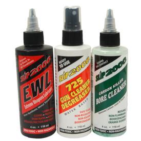 Slip 2000 Ultimate Clean 4oz 3-Pack - EWL Lube/725 Degreaser/Carbon Killer