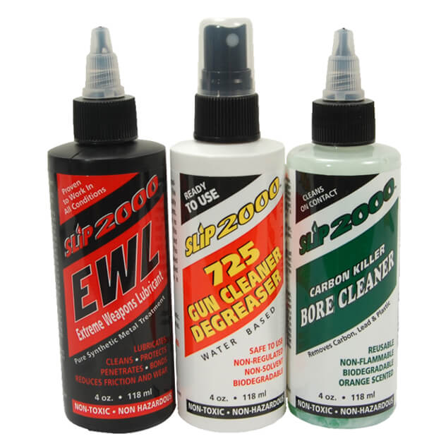 Slip 2000 Ultimate Clean 4oz 3-Pack - EWL Lube/725 Degreaser/Carbon Killer