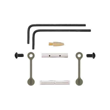 KNS AR15 Gen 2 Mod 2 Non-Rotating Trigger/Hammer Pins .154 - Olive Drab Green