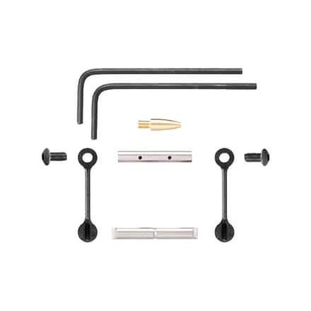 KNS AR15 Gen 2 Mod 2 Non-Rotating Trigger/Hammer Pins .1555 - Black
