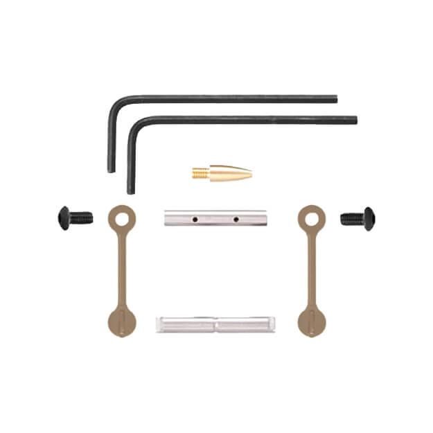 KNS AR15 Gen 2 Mod 2 Non-Rotating Trigger/Hammer Pins .1555 - Dark Earth