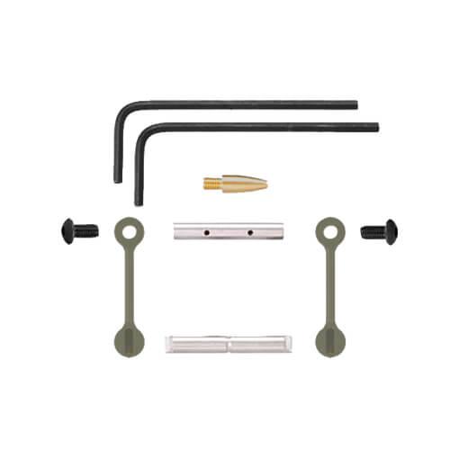 KNS AR15 Gen 2 Mod 2 Non-Rotating Trigger/Hammer Pins .1555 - Olive Drab Green