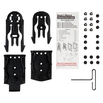 Safariland Molle Holster Kit Black - MLS 15, 16, 17, 18