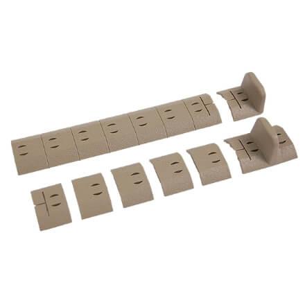Noveske NSR KeyMod Rail Polymer Accessory Pack - Dark Earth