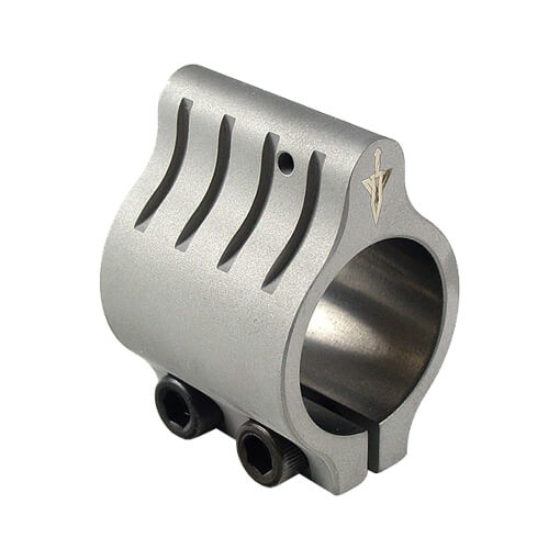 VLTOR Clamp-on Gas Block .750 Bore - Stainless