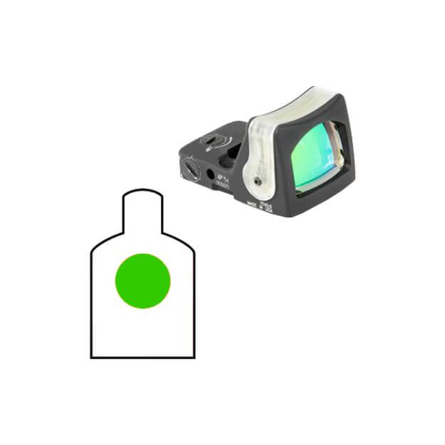 Trijicon RM05G RMR Dual Illuminated Sight - 9.0 MOA Green Dot