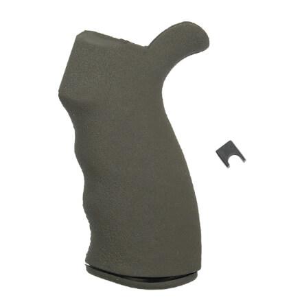 ERGO Enhanced Suregrip AR15 Ambi Grip - Olive Drab Green