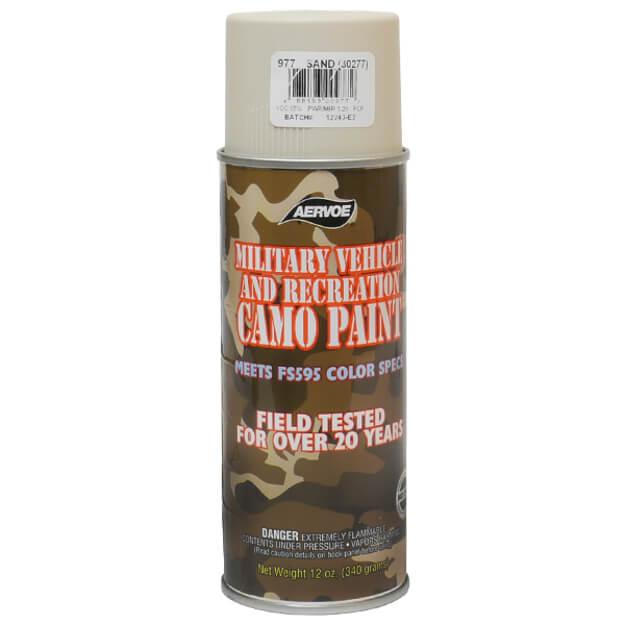 Aervoe Sand Camo Paint