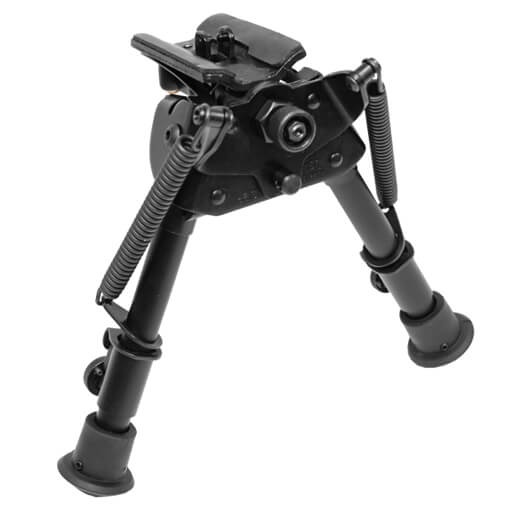 "Harris Swiveling Bipod 6""-9"" Bench Rest w/ Leg Notches"