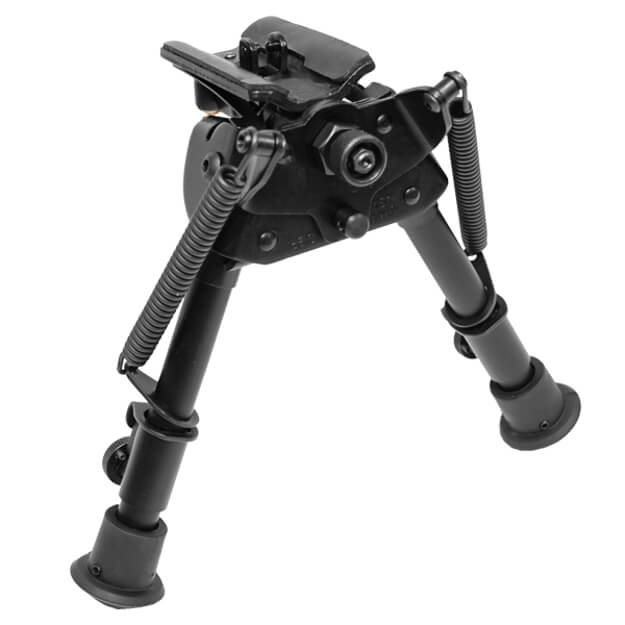 "Harris Swiveling Bipod 6""-9"" Bench Rest"