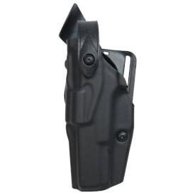Safariland 6360 ALS Lv III Mid Ride UBL Holster - STX Plain Black Sig P220R DAK - Left Hand