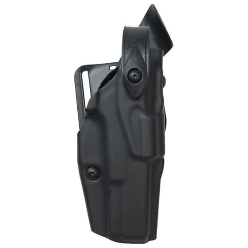 Safariland 6360 ALS Lv III Mid Ride UBL Holster - STX Plain Black Glock 17 17C 22 22C - Right Hand