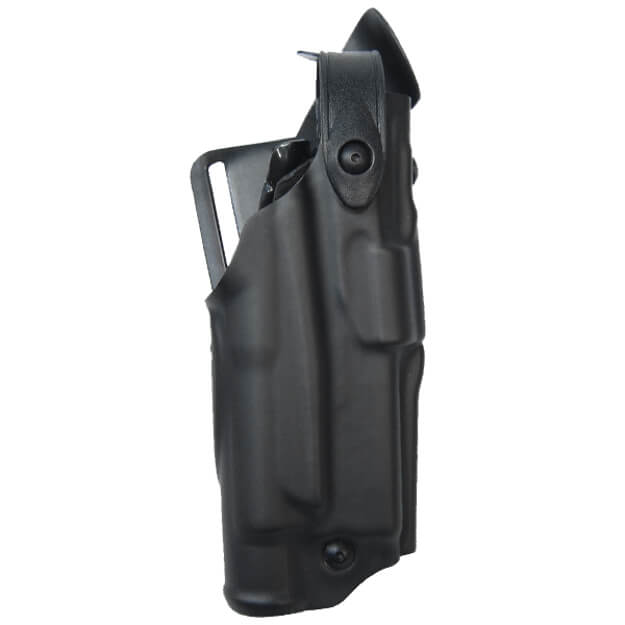 Safariland 6360 ALS Lv III Mid Ride UBL Holster - STX Plain Black Glock 17, 22 w/ Light - Right Hand