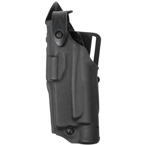 Safariland 6360 ALS Lv III Mid Ride UBL Holster - STX Tac Black Glock 17, 22 w/ Light - Left Hand