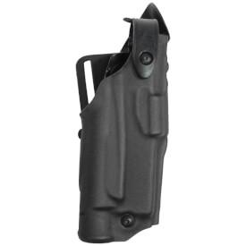 Safariland 6360 ALS Lv III Mid Ride UBL Holster - STX Tac Black Glock 17, 22 w/ Light - Right Hand