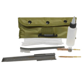 AR15/M16 Military Gun Cleaning Kit w/ Pouch