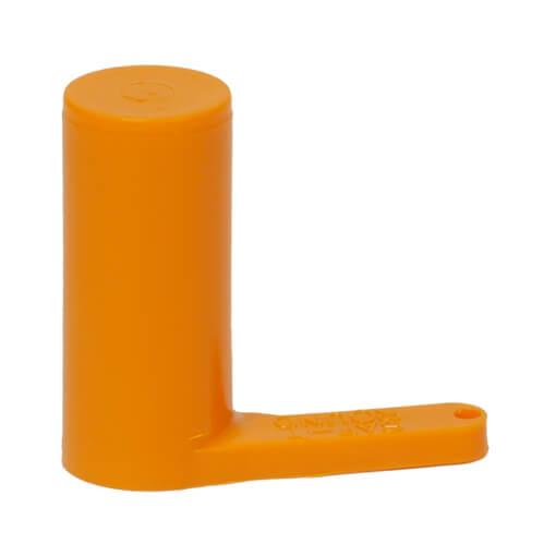 12 Gauge Chamber Flag - Safety Orange