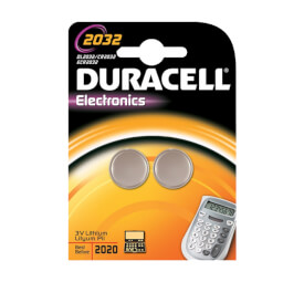Duracell 2032 Battery - 2 Pack