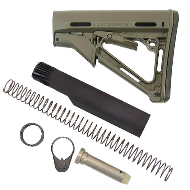 MAGPUL CTR Milspec Diameter Stock Kit - OD Green