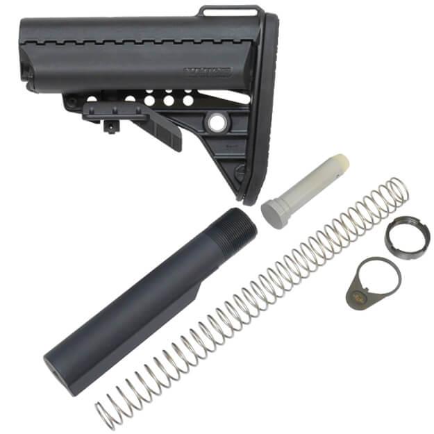 VLTOR Basic IMod Standard Combo Stock Kit w/ Hardware - Black
