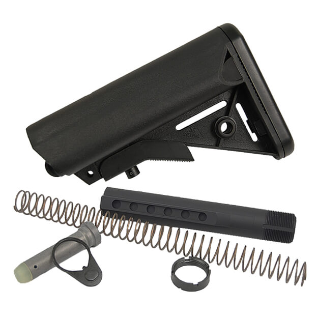 B5 Milspec Diameter Enhanced SOPMOD Buttstock Kit - Black