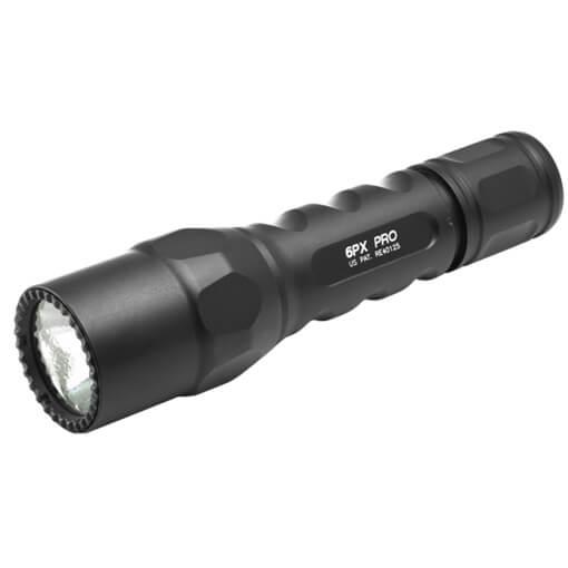 Surefire 6PX PRO LED Dual Stage 15/600 Lumens - Black