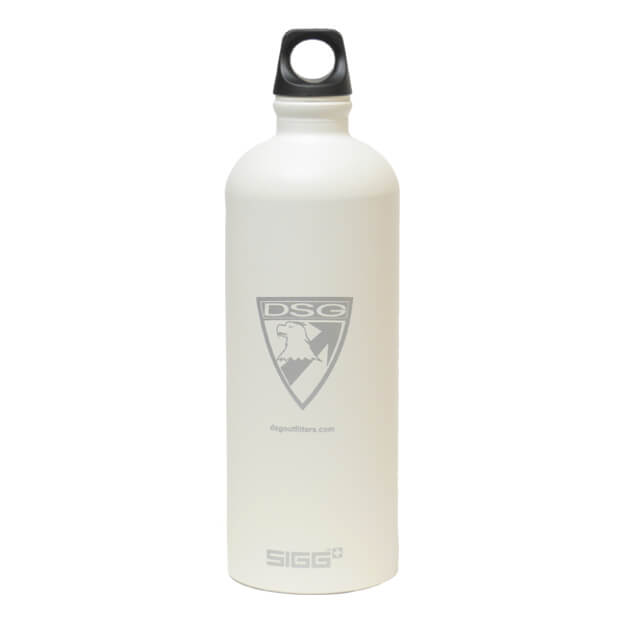 DSG Outfitters Aluminum Water Bottle 1L - White
