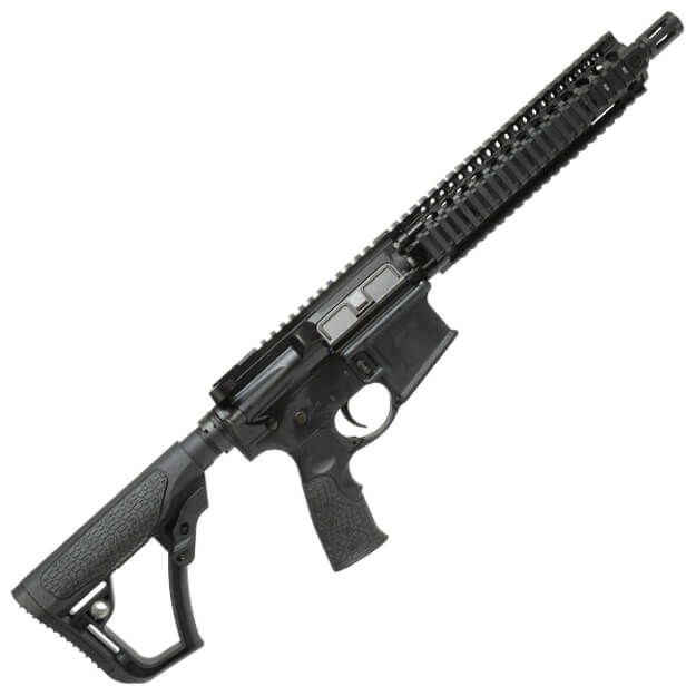 "Daniel Defense 10.3"" MK18 Black SBR w/DD Furniture"