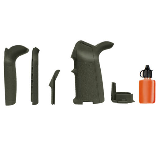 MAGPUL MIAD Gen 1.1 Grip Kit for 5.56 Receivers - Olive Drab Green