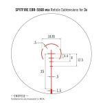 Vortex Spitfire 3x Prism Scope EBR-556B MOA