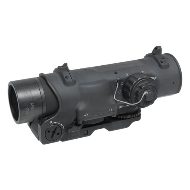 Elcan Specter DR Dual Role 1x/4x Optical Sight 7.62 BDC Reticle w/ ARMS Mount