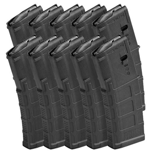 DSG Arms Magazine Pack - 10 MAGPUL PMAG 30rd NON-Window GEN M3