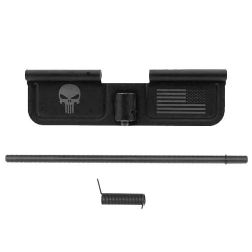 Spikes Ejection Port Door Punisher and Flag Engraved w/ DSG Port Door Rod & DSG Port Door Spring