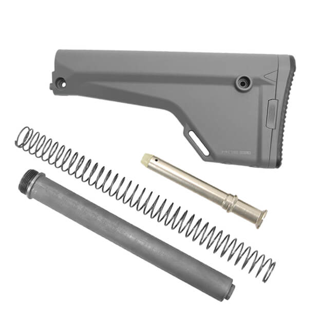MAGPUL MOE Rifle Fixed Stock Kit - Stealth Grey