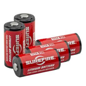 Surefire CR123A Lithium Batteries - 5 Pack