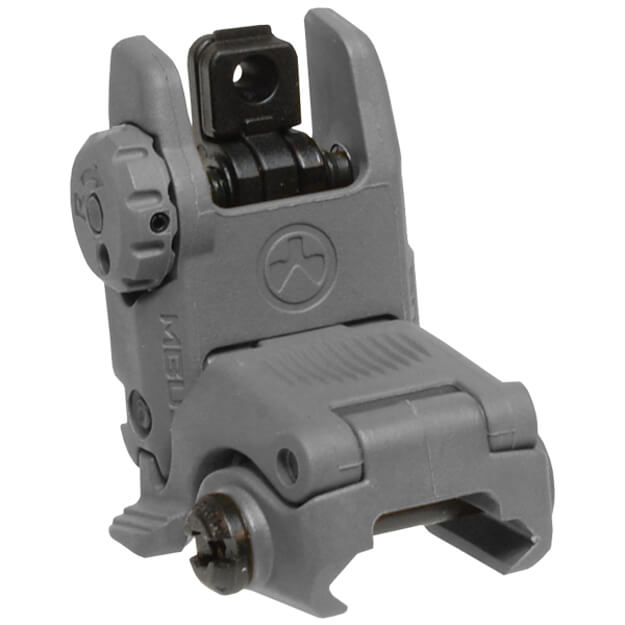 MAGPUL Gen2 MBUS Rear Back Up Sight - Stealth Grey