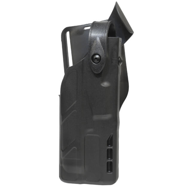 Safariland 7365 7TS ALS Lv III Low Ride UBL Holster - Black Glock 17 w/Light - Right Hand