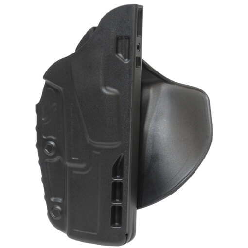 Safariland 7378 7TS ALS Concealment Paddle Holster - Black Glock 17 - Right Hand