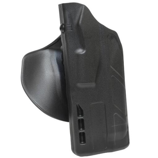 Safariland 7378 7TS ALS Concealment Paddle Holster - Black Glock 19 w/Light - Left Hand