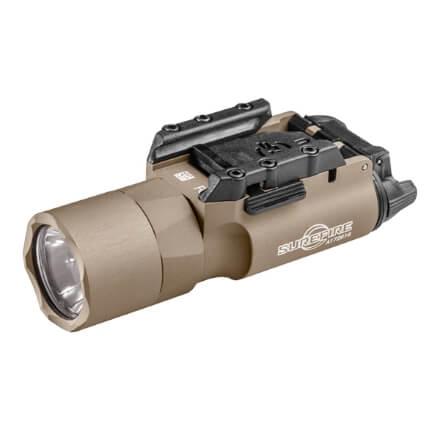Surefire X300U-A Ultra LED Weaponlight 1,000 Lumens - Rail Lock - Tan