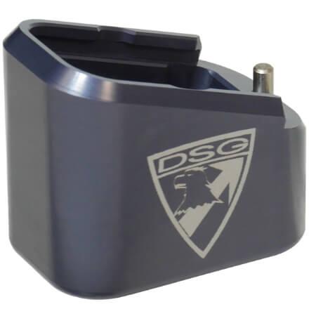 Taran Tactical Glock Firepower +5/+6 Base Pad Kit - Titanium Blue
