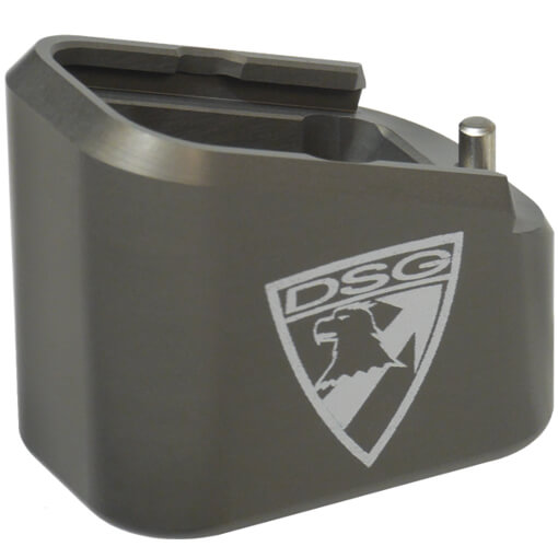 Taran Tactical Glock Firepower +5/+6 Base Pad Kit - Titanium Grey