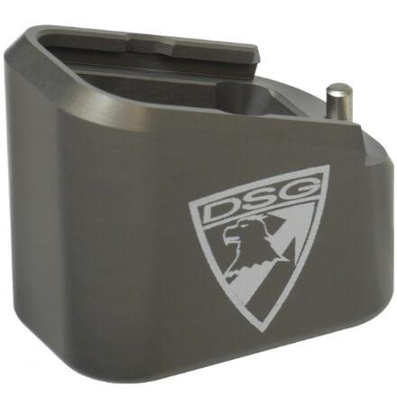 Taran Tactical M&P Firepower +5/+6 Base Pad Kit - Titanium Grey