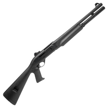 """Benelli 11041 M2 18.5"""" 12GA - Pistol Grip Stock Ghost Ring Sights - LE Only"""