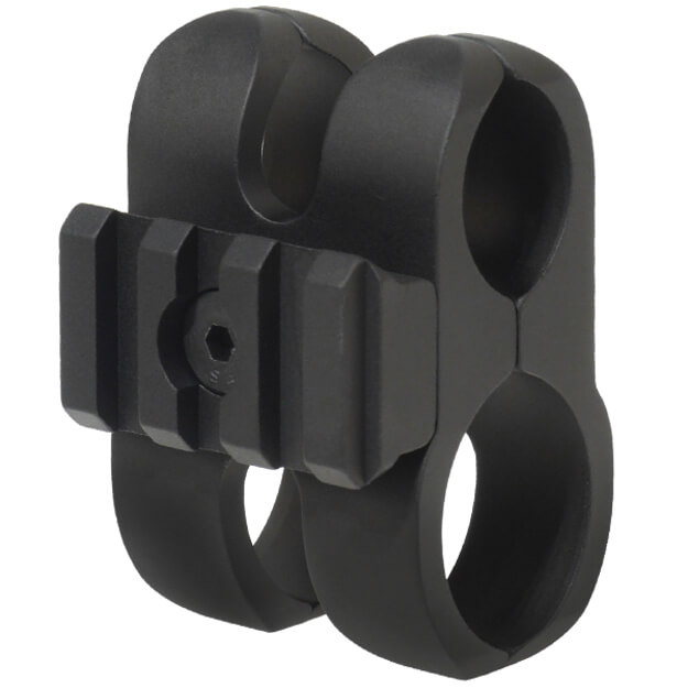 Nordic Components 12 GA Barrel Clamp w/Tac-Rail